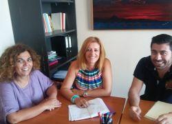 Συνάντηση με την Αντιδήμαρχο Κοινωνικής Πολιτικής και Μετανάστευσης του Δήμου Ηρακλείου