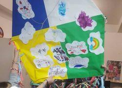 Οι χαρταετοί του παιδικού χωριού SOS και της Ομάδας Βιβλίου