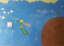 Ο Μικρός Πρίγκιπας στην Παιδοαιματολογική κλινική του ΠΑΓΝΗ από την Ομάδα Βιβλίου